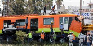 Pandeo de vigas y falta de pernos causas del accidente en la Línea 12 del Metro