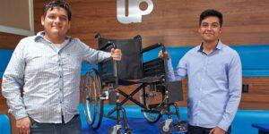 Dos jóvenes mexicanos diseñan IF Brake, un sistema de frenado para sillas de ruedas