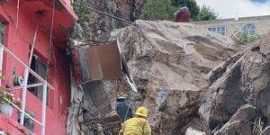 Se desgaja Cerro del Chiquihuite, en el Estado de México; se reporta al menos una persona fallecida