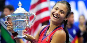 Emma Raducanu, cuya victoria en el US Open le dio 2.5 mdd, dijo que su objetivo inicial era ganar suficiente dinero para reemplazar sus AirPods perdidos
