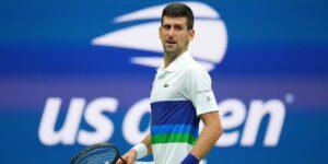Novak Djokovic estaba tan abrumado durante su derrota en la final del US Open que comenzó a llorar mientras aún jugaba