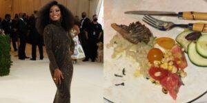 """Keke Palmer bromeó sobre el menú a base de plantas de la Met Gala: """"Por eso no les muestran toda la comida"""""""
