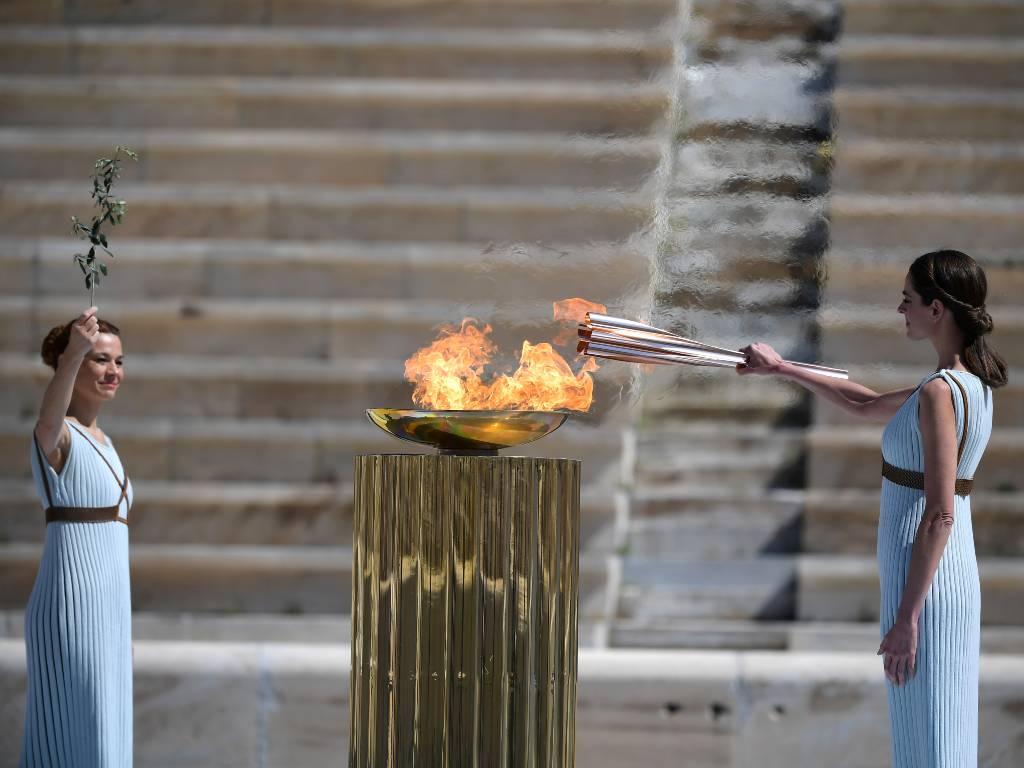 Beijing 2022 antorcha olímpica