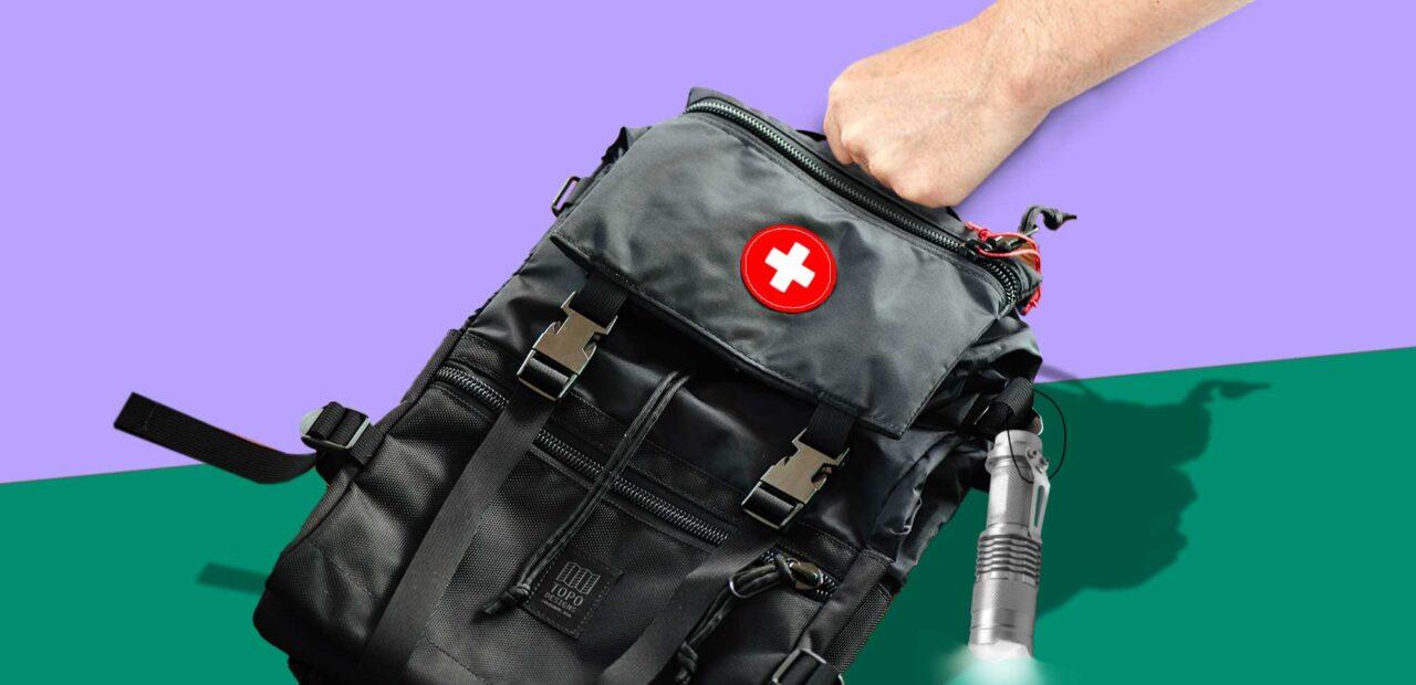 mochila emergencia