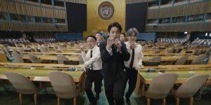 BTS grabó un video musical en el salón de la Asamblea General de las Naciones Unidas