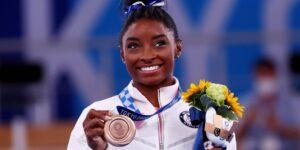 Simone Biles dice que nunca debió estar en el equipo olímpico de Estados Unidos que compitió en Tokio 2020