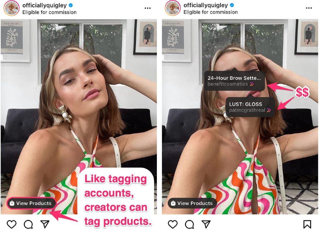 marketing de afiliación instagram