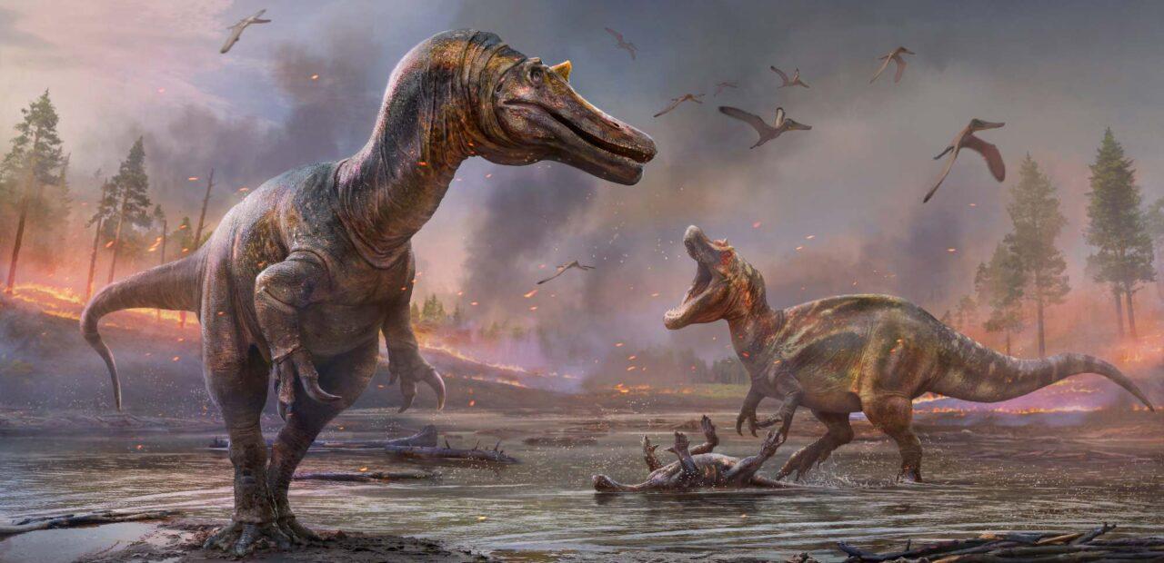 Isla wight dinosaurios