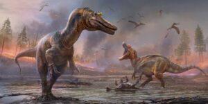 Científicos descubrieron fósiles de dos grandes dinosaurios depredadores que vivieron en la Isla de Wight hace unos 127 millones de años