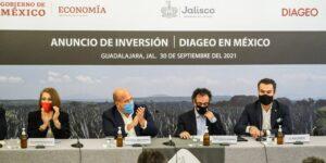 La empresa británica Diageo invertirá 500 mdd en infraestructura para la producción de tequila en Jalisco —generará 1,000 empleos directos
