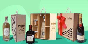 """Montjuic Regal Box, la startup que """"regala"""" populares botellas de alcohol con un toque personal"""