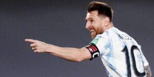 Lionel Messi se convierte en el primer futbolista sudamericano que anota 80 goles internacionales