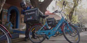 ¡Tu pizza llegará en bici! Electrobike y Domino's se unen para reducir la huella de carbono