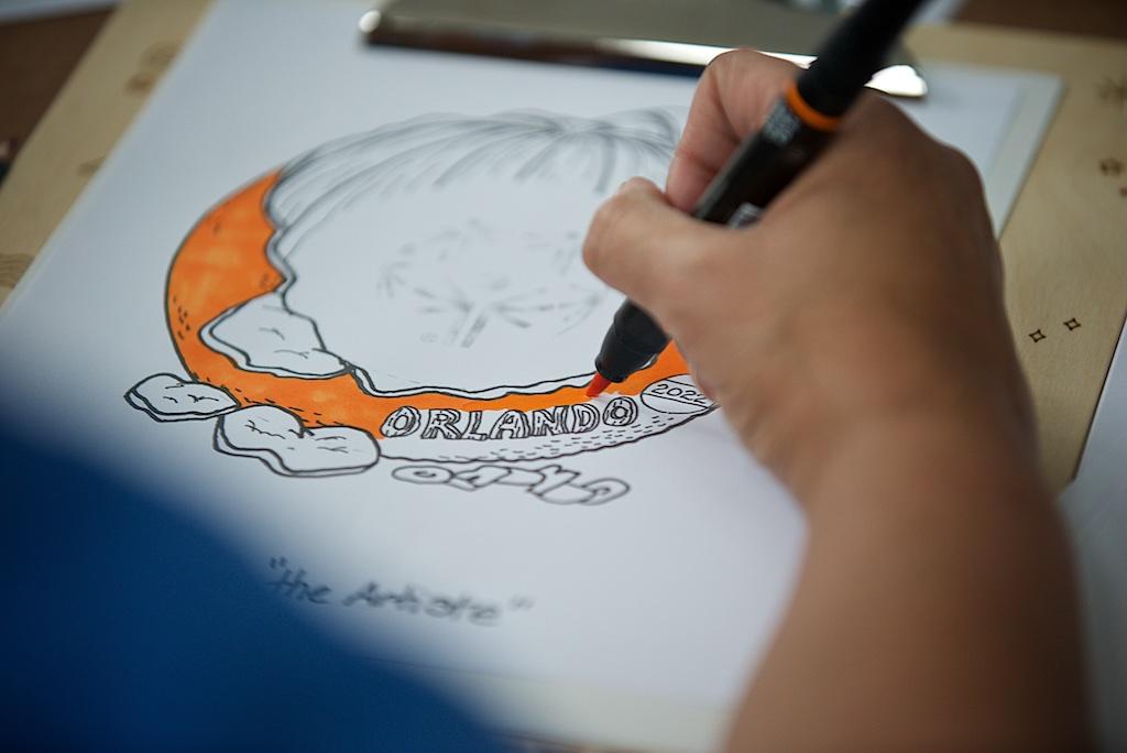 Drawing a logo