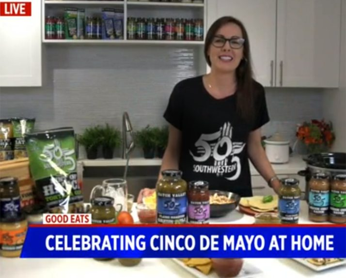 Celebrate Cinco De Mayo at Home with 505 Salsa