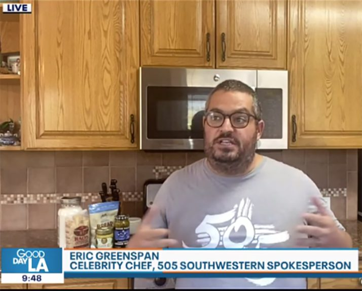 Celebrity Chef Eric Greenspan from 505 Southwestern shows us how to spice up quarantine dishes