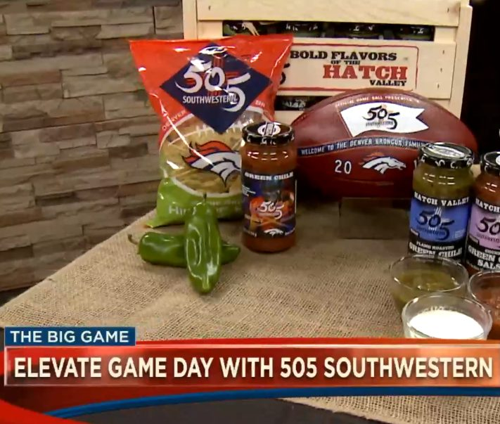 Kicking your Super Bowl Party up with 505 Southwestern ®