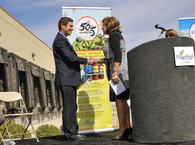 Executive Chairman and CEO Rob Holland is bringing green chile to the masses with his company's 505 Southwestern® brand