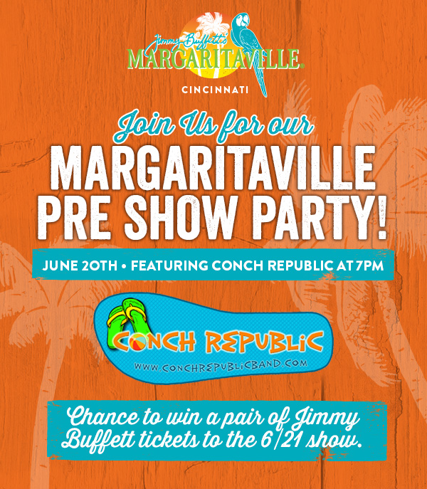 Margaritaville Pre Show Party