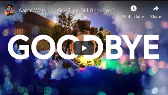 "Aaron Watson Launches Lyric Video For New Single  ""Kiss That Girl Goodbye"""