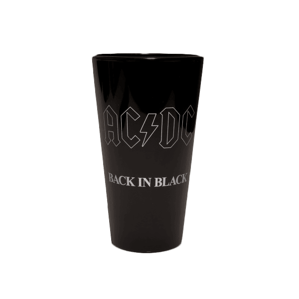 Back In Black 35th Anniversary Pint Glass