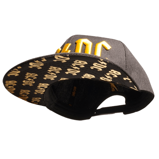 Mustard 3D Logo Under Brim Hat