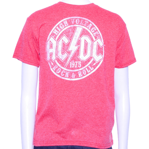 Kids High Voltage Circle Logo T-Shirt