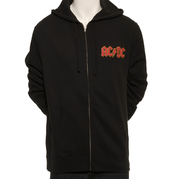 Rock Or Bust World Tour Zip Hoodie