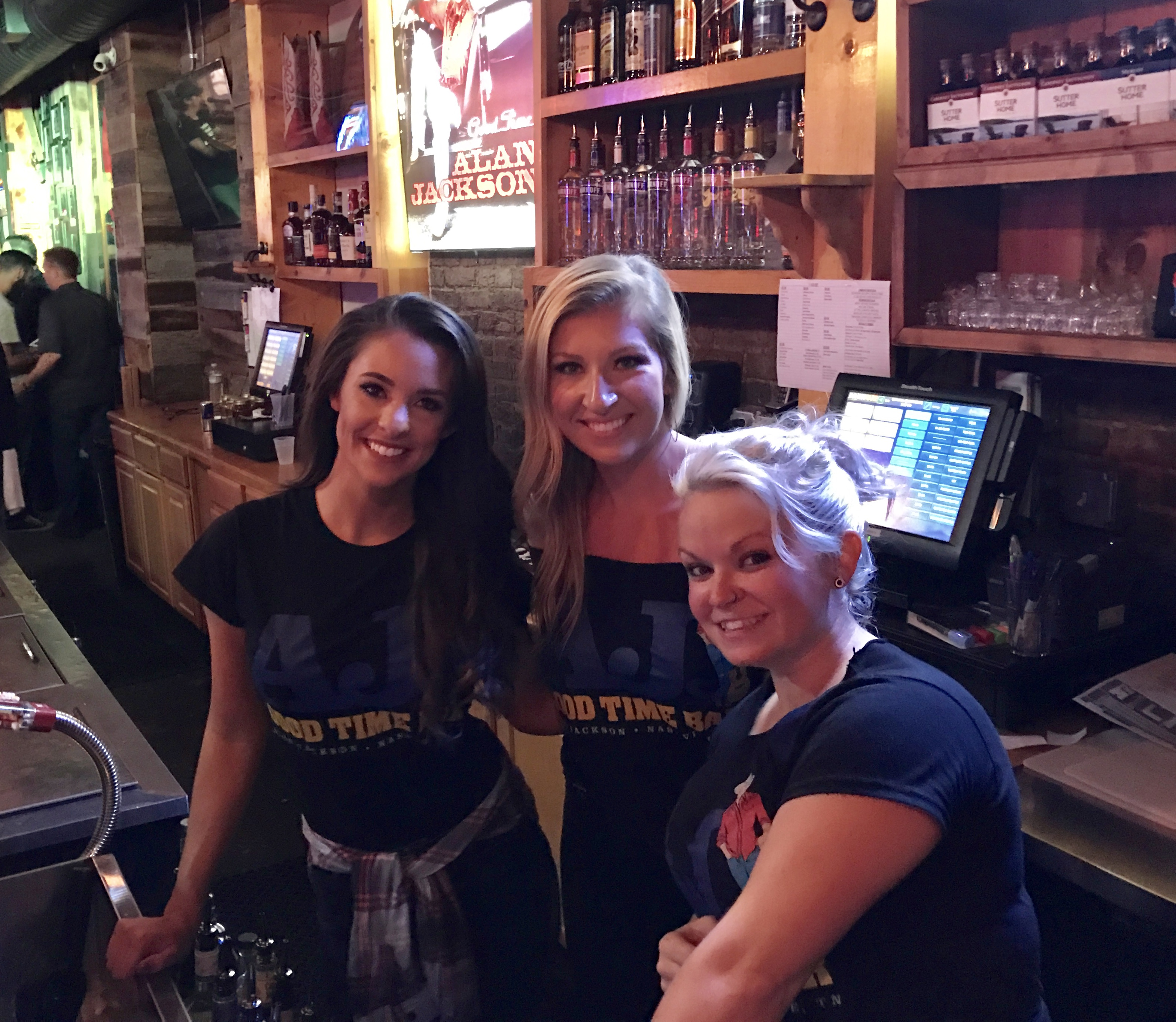 Opening Night At AJ's Good Time Bar