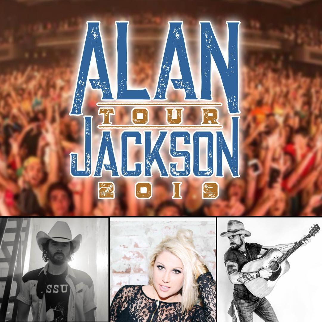 Alan Jackson 2019 Tour Openers from AJ's Announced