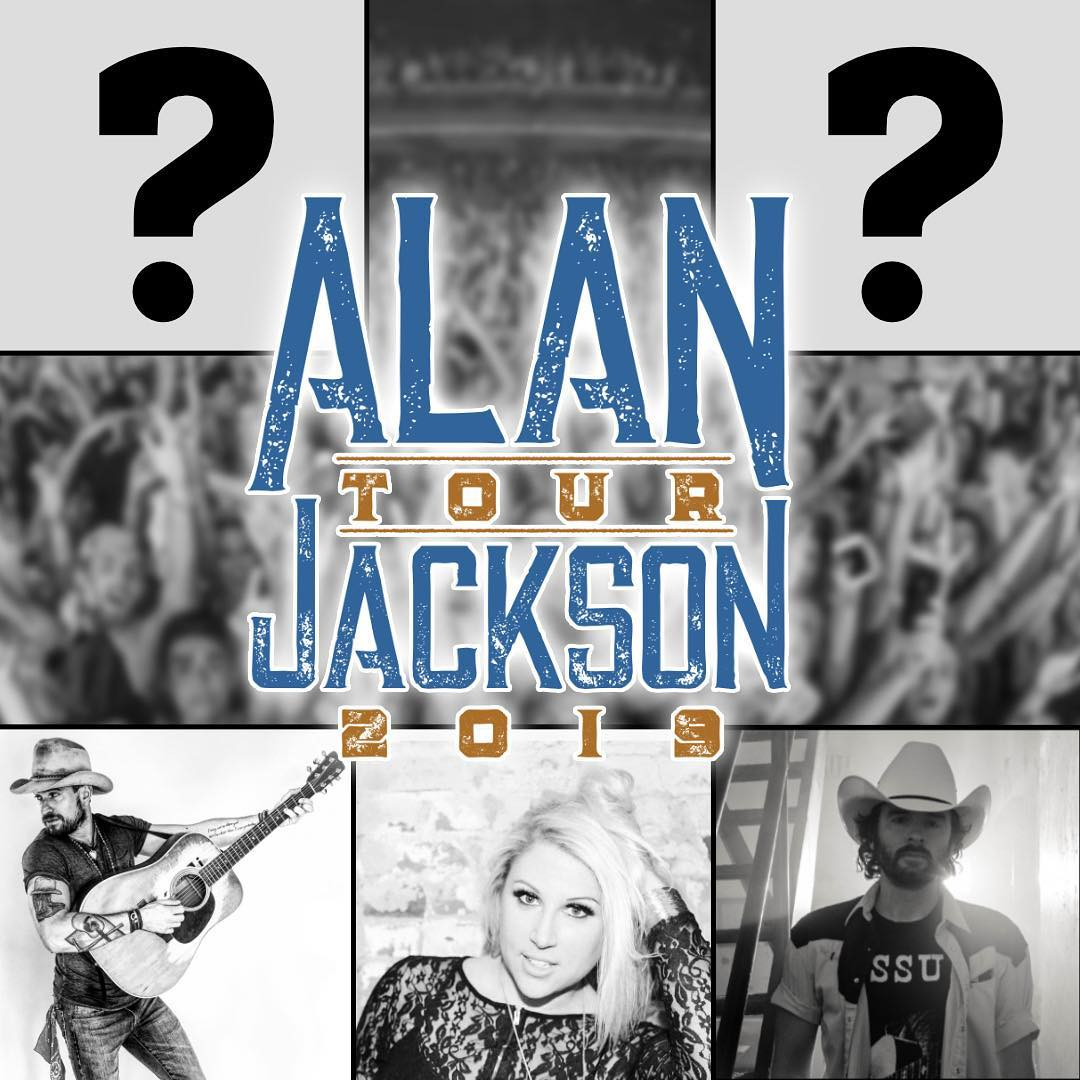 Wild Card Contest to join Alan Jackson on his 2019 Tour is now open!