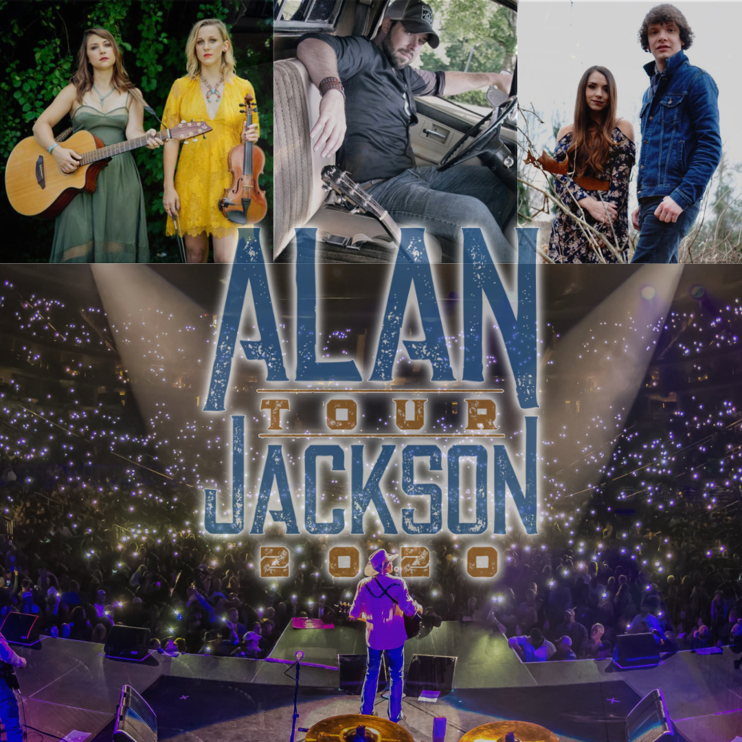 COUNTRY SUPERSTAR ALAN JACKSON TO SHOWCASE NEW TALENT ON HIS 2020 TOUR