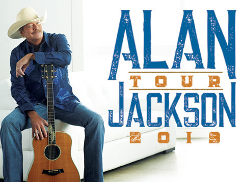 ALAN JACKSON 2019 TOUR TO INCLUDE ARTISTS FROM AJ'S GOOD TIME BAR