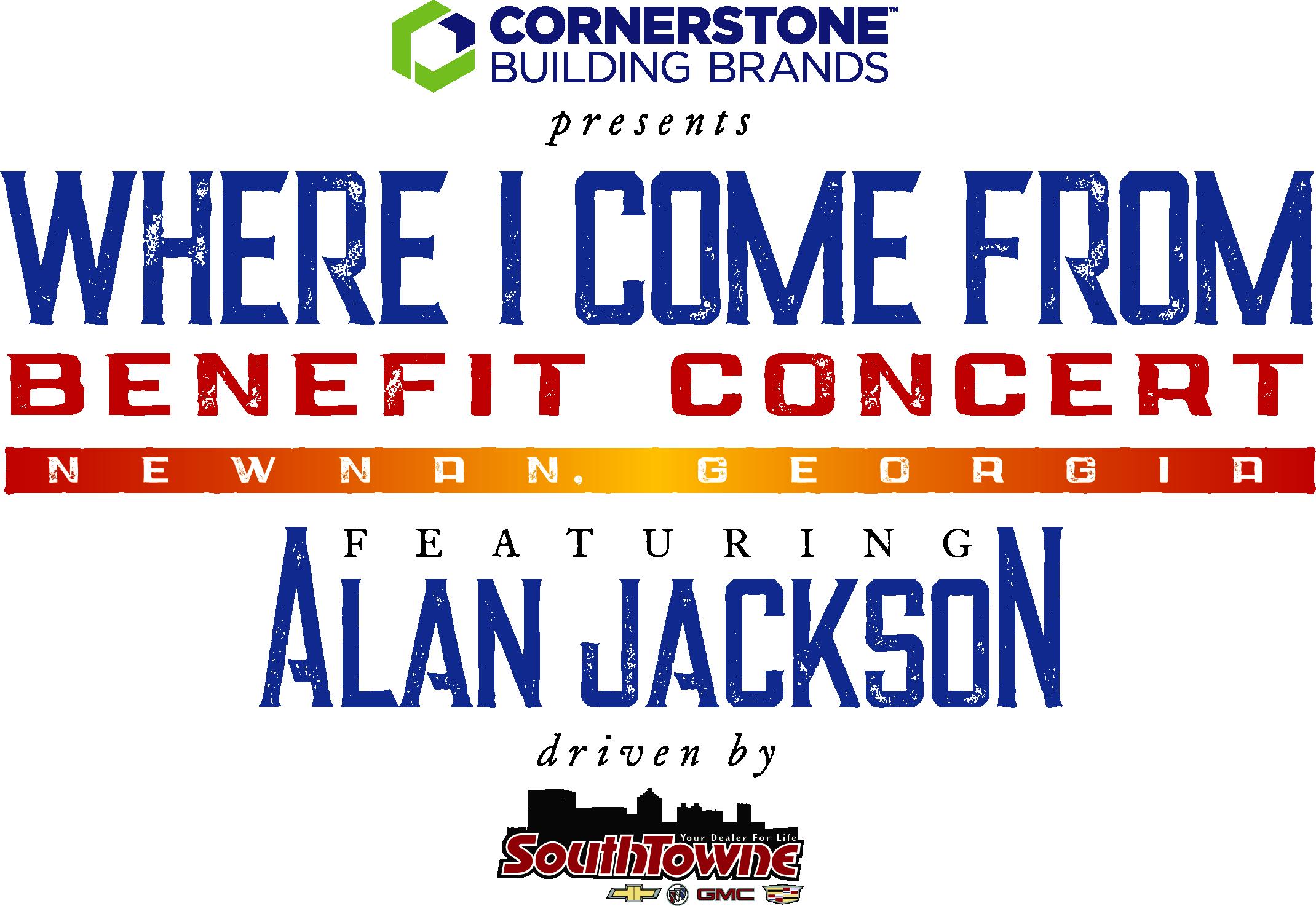 Alan Jackson Newnan Benefit