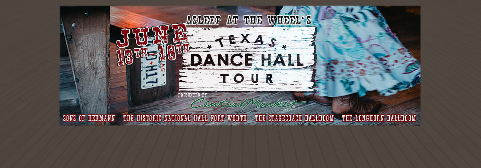 2019 Texas Dance Hall Tour