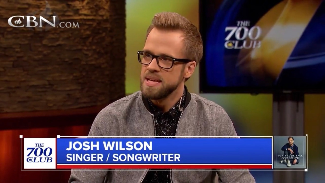 BLACK RIVER CHRISTIAN ARTIST JOSH WILSON PERFORMS HIT SINGLE  BORROW (ONE DAY AT A TIME) ON CBNS THE 700 CLUB