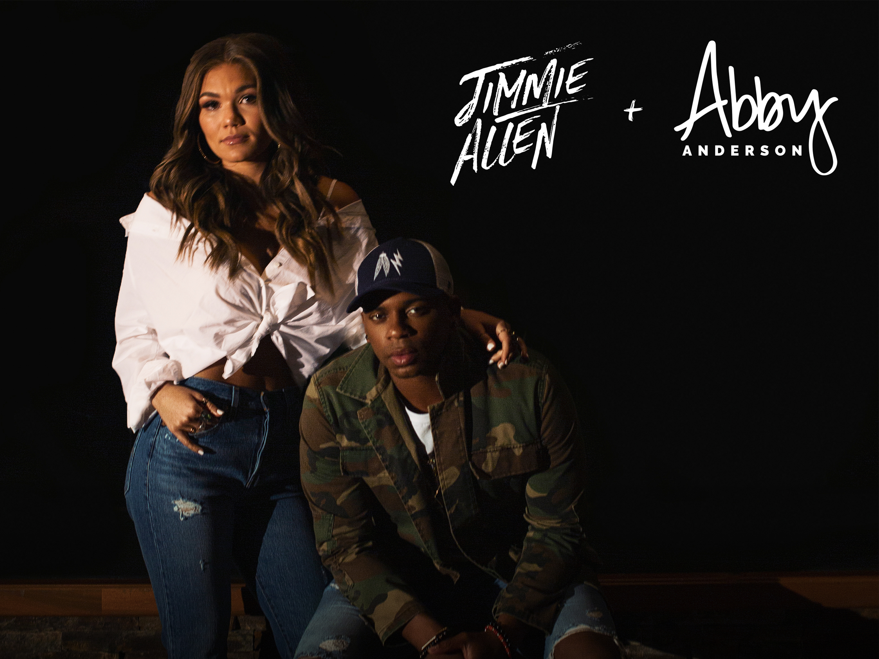 "JIMMIE ALLEN AND ABBY ANDERSON RELEASE  SULTRY COVER OF LADY GAGA AND BRADLEY COOPER DUET ""SHALLOW"""