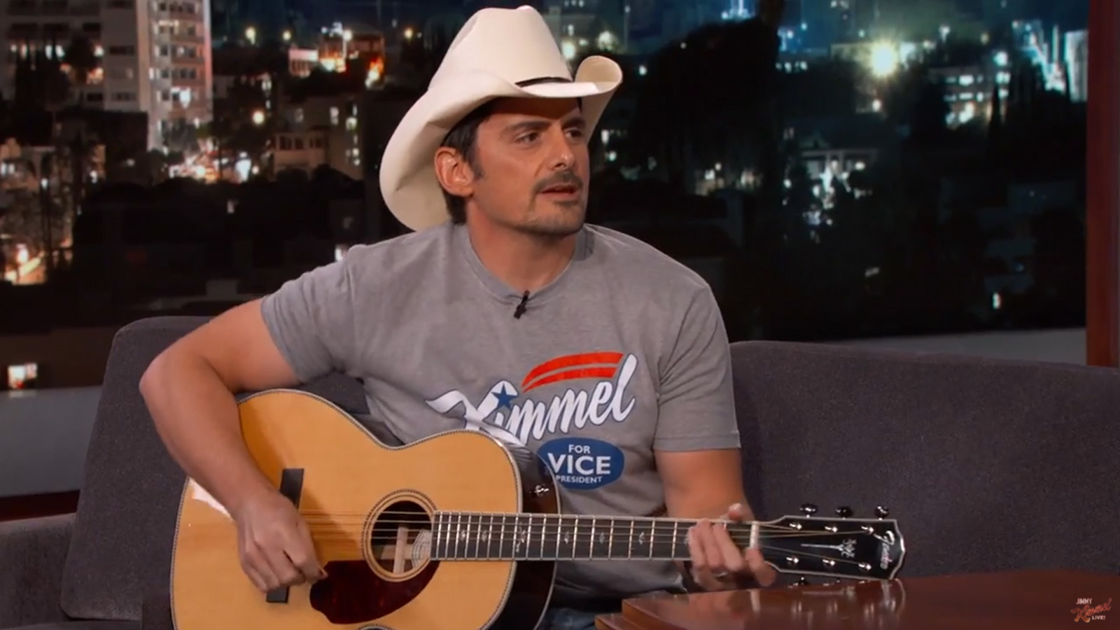 Brad Paisley to Guest Host JIMMY KIMMEL LIVE! September 9th