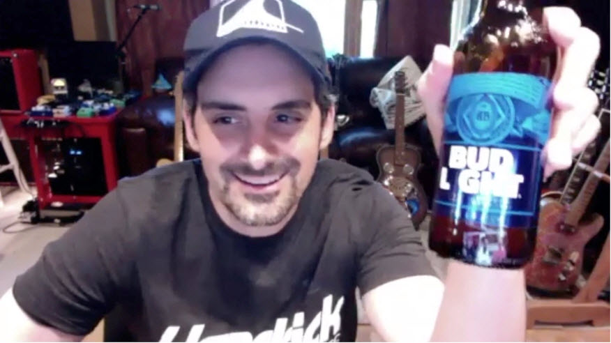 Best friends who asked people to 'relax and have a beer,' get a call from Brad Paisley