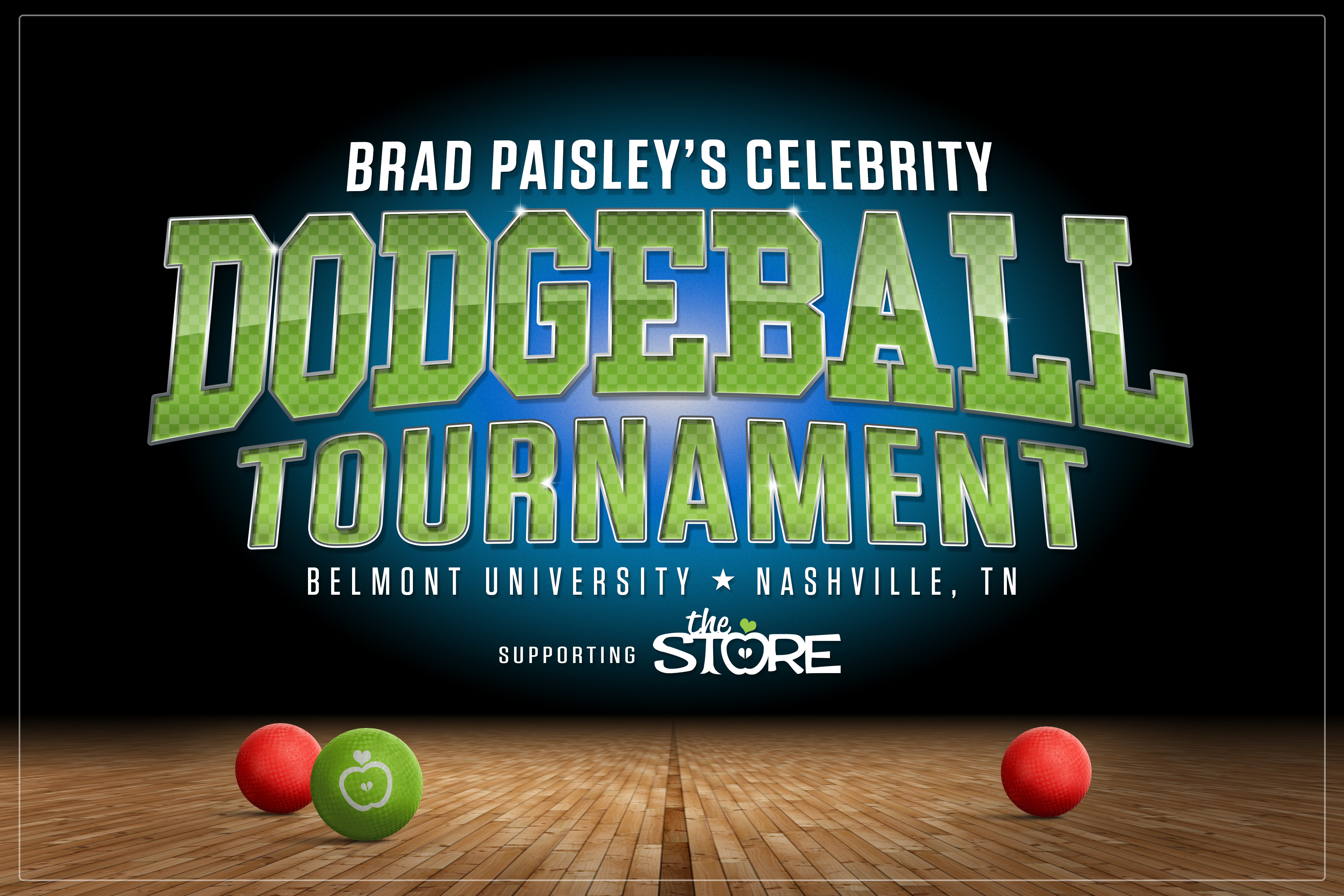 Brad Paisley Announces Celebrity Dodgeball Tournament to Benefit Nonprofit The Store