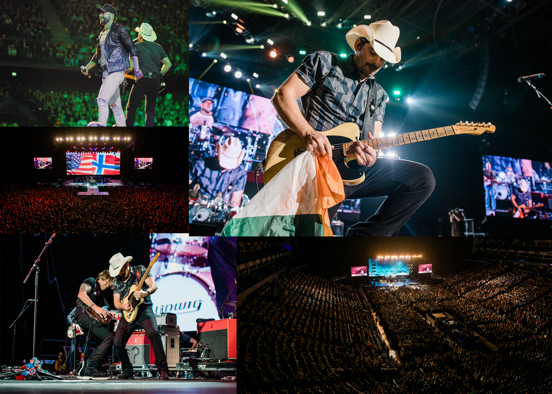 BRAD PAISLEY WRAPS SOLD OUT TOUR IN EUROPE Eight Countries in Twelve Days