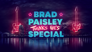 BRAD PAISLEY THINKS HE'S SPECIAL' TO AIR DEC. 3 ON ABC