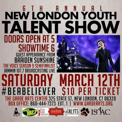 New London Youth Talent Show at The Garde Arts Center