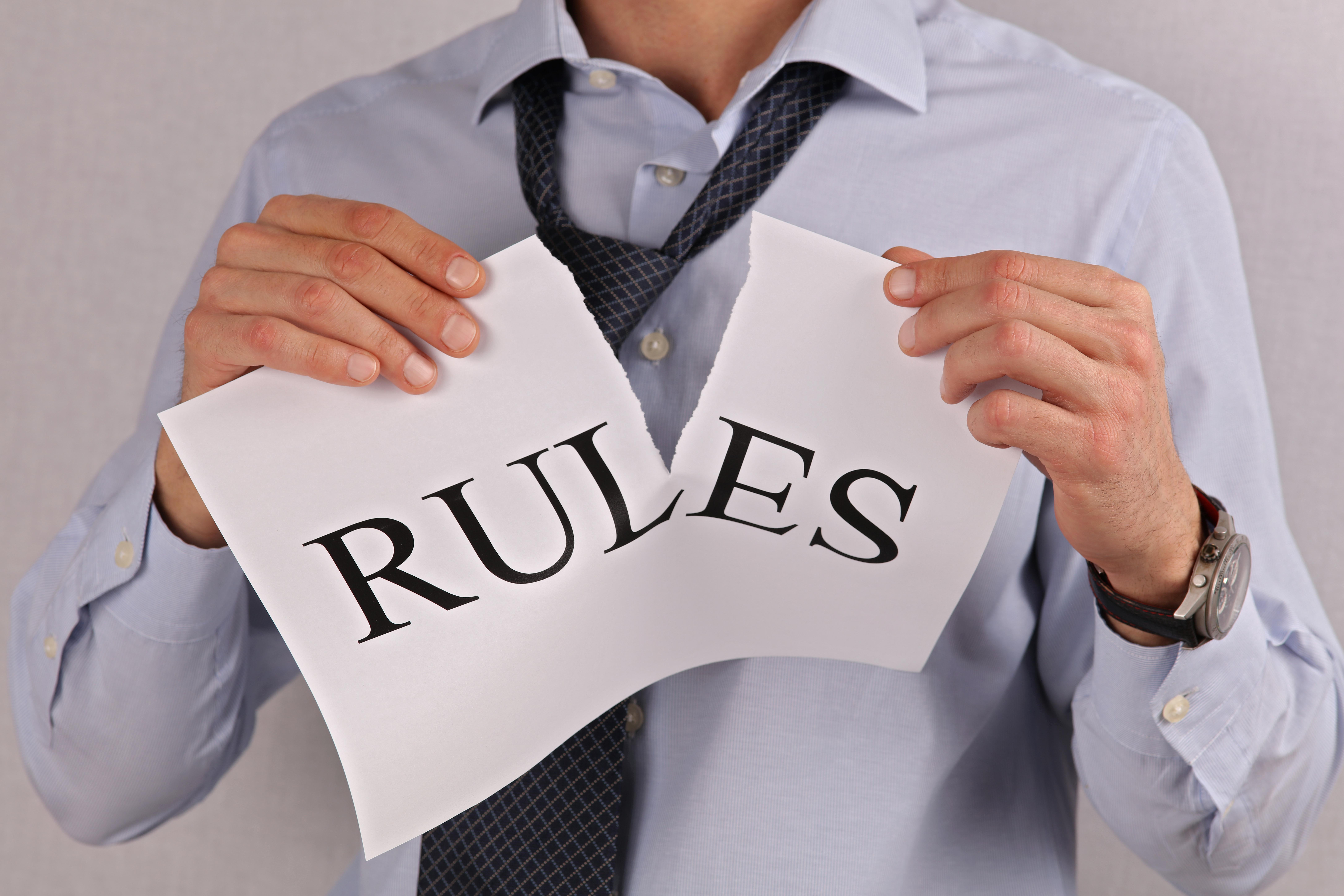 Are You a Rule Breaker? | CDR-U