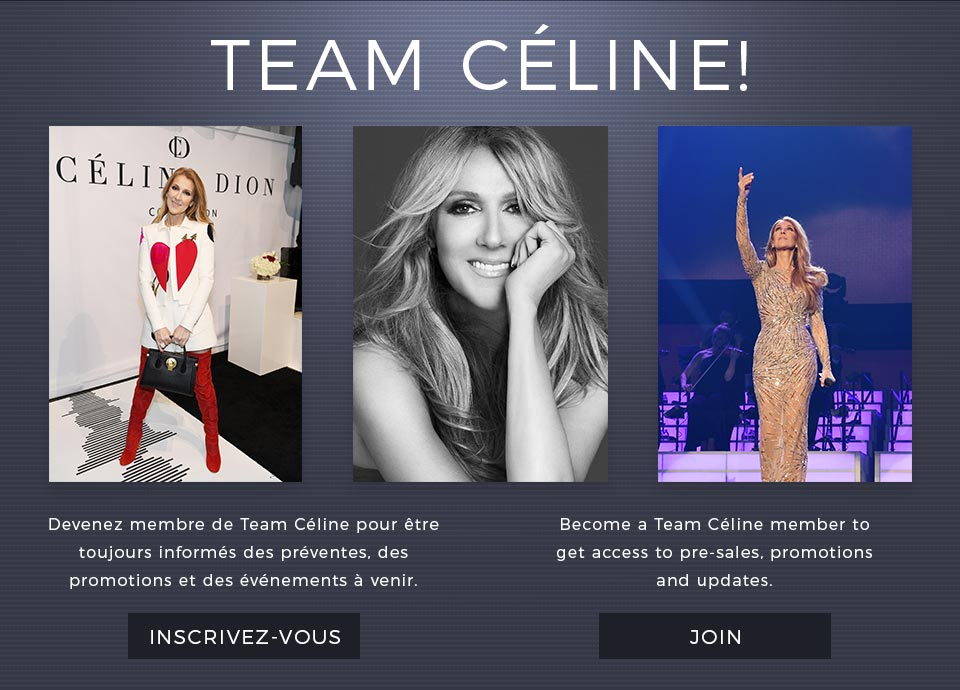 Team Céline! - Devenez membre de Team Céline pour être toujours informés des préventes, des promotions et des événements à venir. / Become a Team Céline member to get access to pre-sales, promotions and updates.