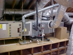 Horizontal furnace and coil application.