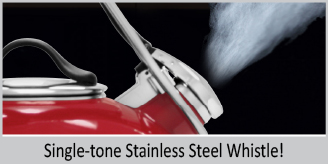 single tone stainless steel whistle