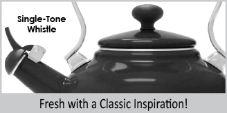 onyx limited edition teakettle features fresh with classic inspiration look