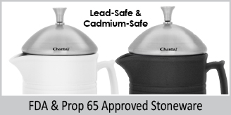 lead safe and cadmium safe fda and prop 65 approved stoneware