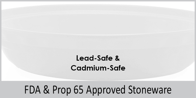 generously proportioned 9 1/2 inch deep dish pie dish accommodates your deep-dish fruit pies or savory pot-pies fda and prop 65 approved stoneware